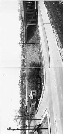 Image: di128724 - Riverside Drive, overall view I-471 bridge project