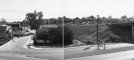 Image: di128759 - Riverside Drive, overall view I-471 bridge project