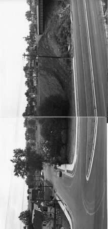 Image: di128760 - Riverside Drive, overall view I-471 bridge project