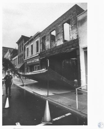 Image: di13265 - collapsed building front