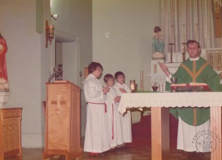 Image: di130015 - Fr. James Gerrety. Saint John Church
