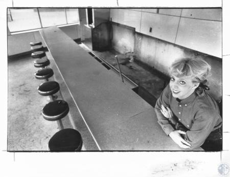 Image: di14294 - Judi Gerding inside old Clock Grill, no called the Point