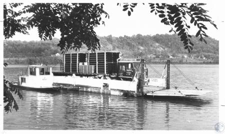 Image: di14311 - Warsaw Ferry returning from Vevay, IN