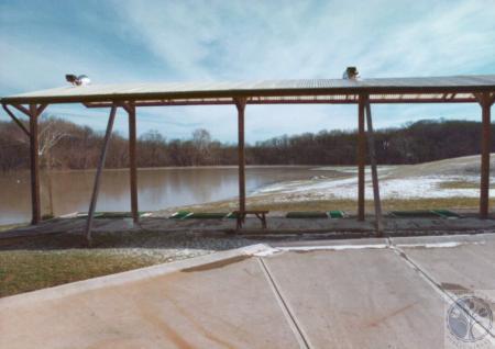 Image: di14736 - Fort Wright Golf Range, 1996 Spring Flood