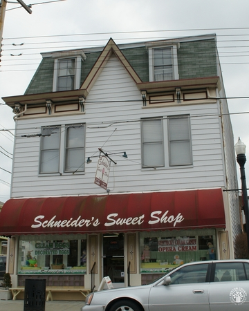 Image: di140125 - Scheider's Sweet Shop, started in 1939 by Chris Papas but sold to Bob Schneider in 1940. These images....