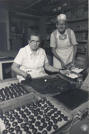 Image: di140133 - Katherine and Norbert Hartmann.     These images appeared in the Northern Kentucky Heritage Magazine....