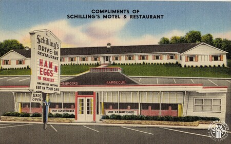Image: di140388 - Schilling's Motel and Restaurant - located at 1939 Dixie Hwy.
