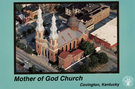 Image: di140390 - Aerial photo of Mother of God church.
