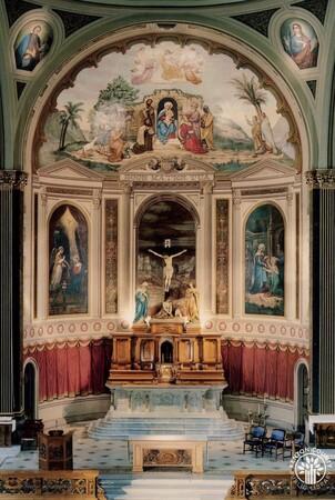 Image: di140391 - Mother of God Church sanctuary