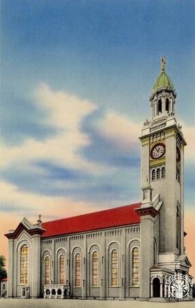 Image: di140393 - Exterior of St. Aloysius Church