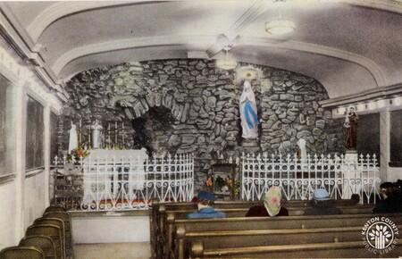 Image: di140395 - Grotto at St. Aloysius