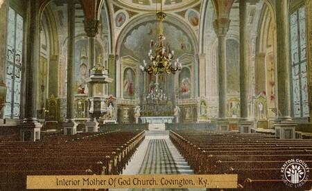 Image: di140405 - Mother of God Church interior