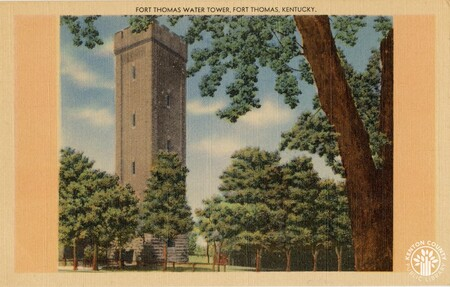 Image: di140423 - Fort Thomas Water Tower