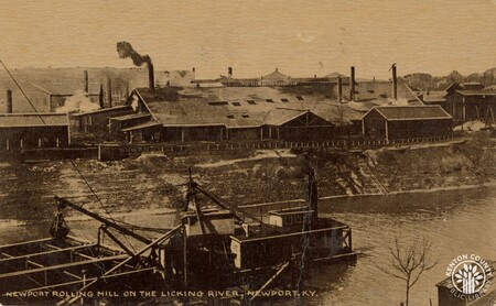 Image: di140426 - Newport Rolling Mill on the Licking River