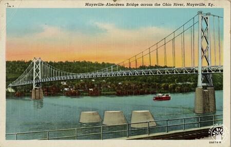 Image: di140437 - Maysville-Aberdeen Bridge (aka Simon Kenton Memorial Bridge)