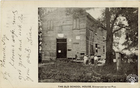 Image: di140440 - The Old Schoolhouse - Stringtown on the Pike