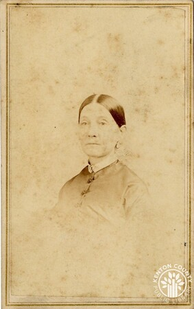Image: di140476 - Name of woman is unknown - photo by J.P. Ball's Photographic Gallery, 30 W. 4th St., Cincinnati.
