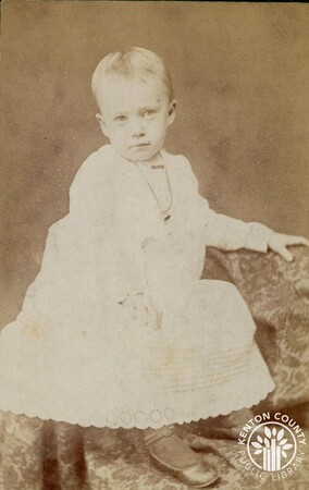 Image: di140483 - Photo of unknown child - taken in Madison, IN