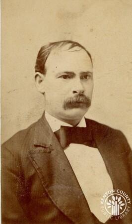Image: di140484 - John Stanley - photographer was Sam B. Revenaugh, 28 Huron St., Ann Arbor, Michigan.