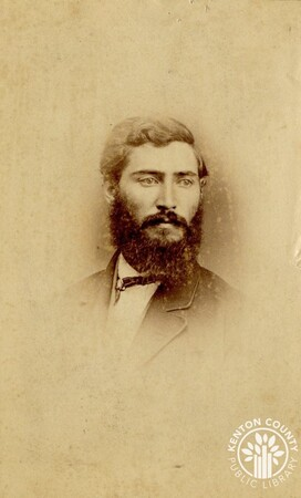 Image: di140490 - Unknown man - photo by Dewey's Gallery, NW corner 4th & Central Ave., Cincinnati.