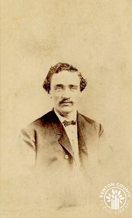 Image: di140491 - Unknown man - photo by Ball & Thomas Photographic Art Gallery, 120 W. 4th St near Race, Cincinnati
