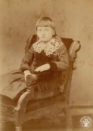 Image: di140507 - Ellie Walters - photo by Slocum, 152 W. 5th St., Cincinnati.