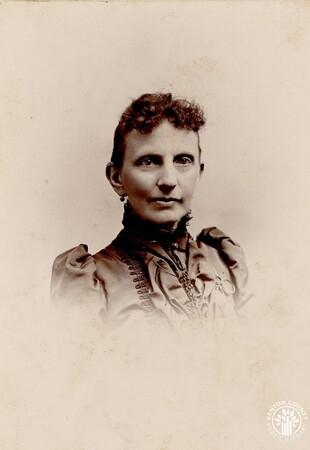 Image: di140508 - May be Emma Hilton Harper (Augusta Hilton Alley's aunt) - photo done by 148 W. 4th St., Cincinnati