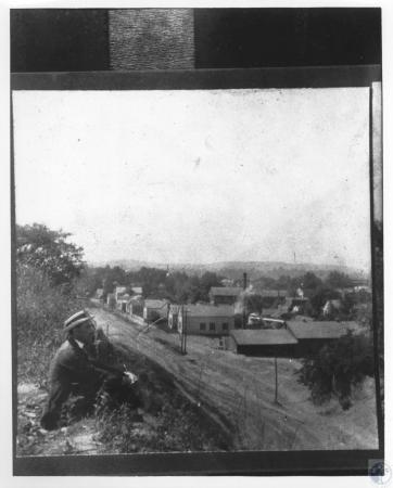 Image: di15938 - Fall City, Indiana - looking southwest