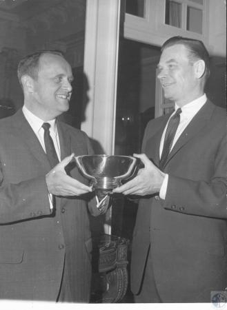 Image: di18116 - Governor Breathitt and Foster Ockerman (Lexington Attorney)