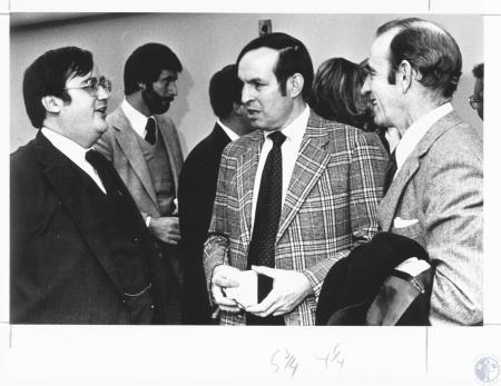 Image: di18386 - From Left: Louis DeFalaise, Judge; Eugene Siler and Elden Wehl