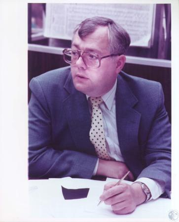 Image: di18701 - Mike Farrell, managing editor of the Kentucky Post