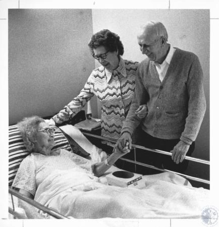 Image: di18785 - Ida Ginn (94), Arline Ginn (72), Jack Ginn (74)