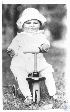 Image: di19015 - Ralph Haile Jr., president People's Liberty Bank, as a child