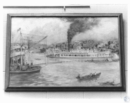 Image: di19168 - Harlan Hubbard painting
