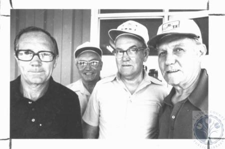 Image: di19201 - Isler brothers - Bill, Clyde, Pleas Sr. and John