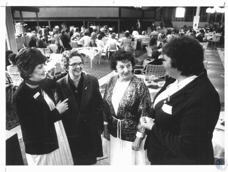 Image: di19365 - Nancy Slagle, Helen Lyon, Ruth C. Bowman, Pat Knipper