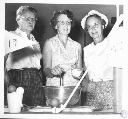 Image: di19534 - Mrs. Ed Locke, Mrs. Walker Air, Mrs. Joan Sheppard