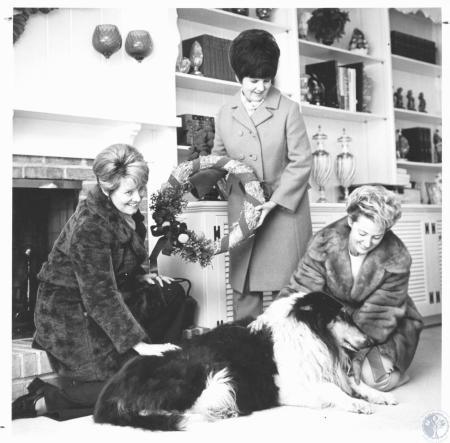 Image: di19648 - Mrs. Leo Meyers, Mrs. Ron Dermody, Mrs. Michael Matracia