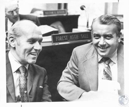 Image: di19734 - State Representative William K. McBee and Rep. John Isler