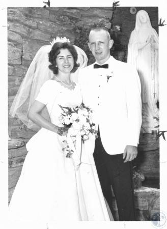 Image: di20303 - Mary Ann Stahl and Jerome A. Becker wedding photo