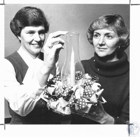 Image: di20336 - Mrs. Edward Schuette, Mrs. Michael Legeay
