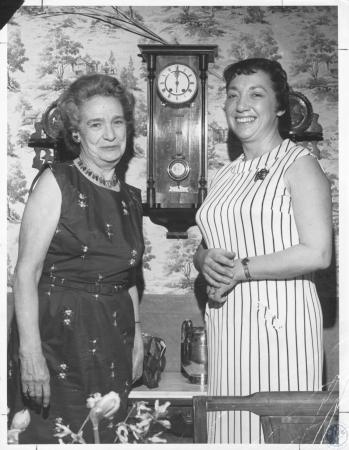 Image: di20412 - Mrs. Mae Steidle and Mrs. Harold Tuch