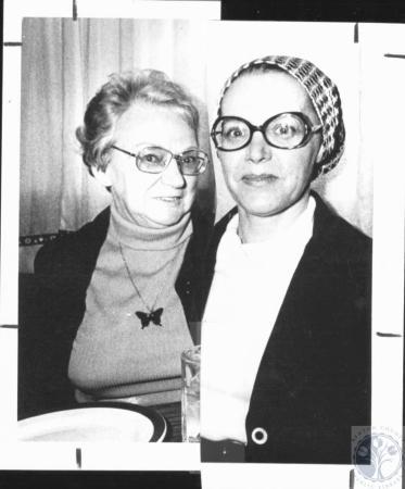 Image: di20565 - Mrs. Walter Sand (Doris) and daughter Joyce Flora