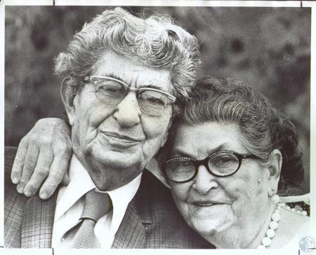 Image: di23762 - Mr. and Mrs. Louis Zechella, Sr., 62nd Wedding Anniversary