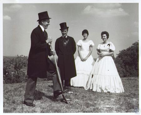 Image: di23871 - Groundbreaking of the Lofts of Prospect Point: Ralph Drees, Judge James Dressman, Irma Drees and Theresa....