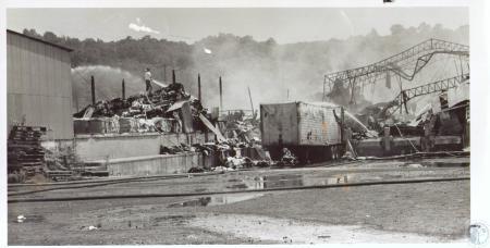 Image: di24206 - Duro Paper Bag Company Fire