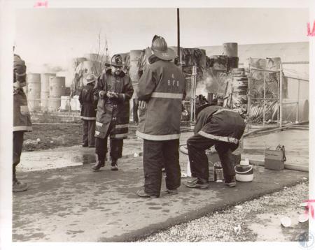 Image: di24207 - Duro Paper Bag Company Fire