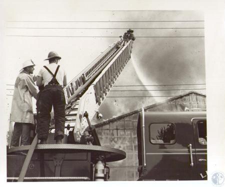 Image: di24210 - Duro Paper Bag Company Fire