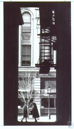 Image: di24862 - View from an alley on to Madison Avenue