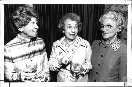 Image: di25268 - Mrs. Albert Rebstein (2nd Vice Pres.), Mrs. Frank Wheeler (Auditor), Mrs. Henry Harris (Treasurer)